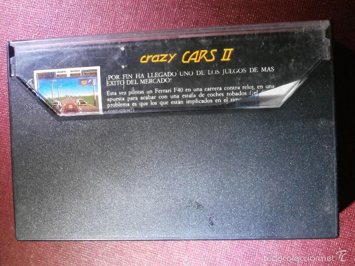 Videojuegos y Consolas: JUEGO ZX SPECTRUM Y COMPATIBLES - CRAZY CARS II - Proein Softline -1989 - - Foto 2 - 56131918
