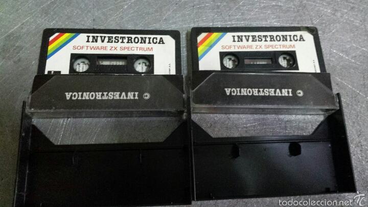Videojuegos y Consolas: Lote 2 juegos Spectrum ZX - Foto 2 - 56371605