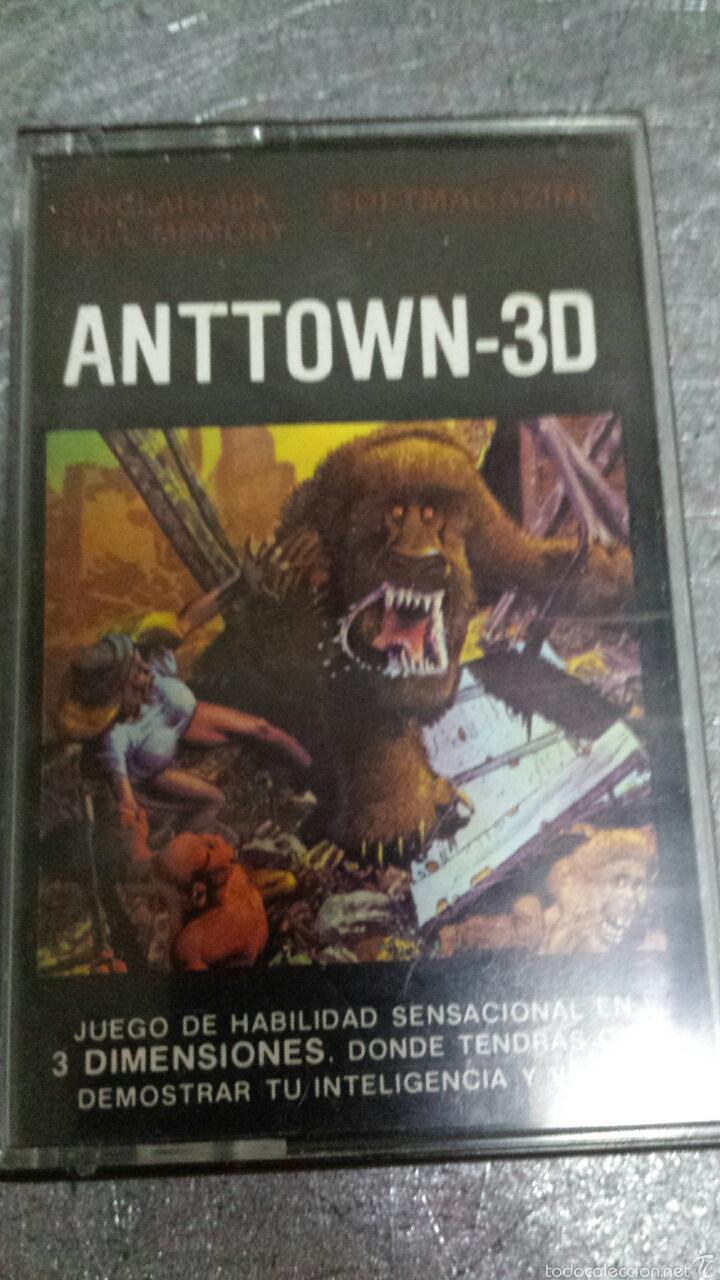 JUEGO ORIGINAL ANTTOWN -3D SPECTRUM (Juguetes - Videojuegos y Consolas - Spectrum)