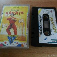 Videogiochi e Consoli: SHANGHAI KARATE - ZX SPECTRUM. Lote 56959050