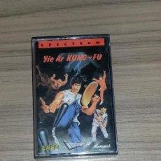Videojuegos y Consolas: YIE AR KUNG FU JUEGO SPECTRUM PAL ESPAÑA. Lote 57546225