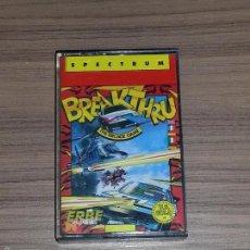 Videojuegos y Consolas: BREAKTHRU JUEGO SPECTRUM PAL ESPAÑA. Lote 57546457