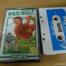 Videojuegos y Consolas: PRO GOLF - ATLANTIS - SPECTRUM ZX - . Lote 57649433