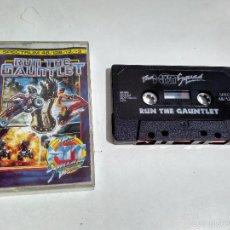 Videojuegos y Consolas: SPECTRUM CINTA - JUEGO RUN THE GAUNTLET. Lote 57797766