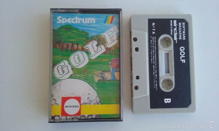 JUEGO SPECTRUM/GOLF. (Juguetes - Videojuegos y Consolas - Spectrum)
