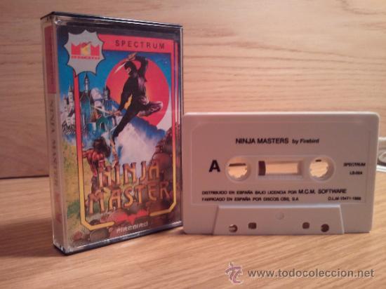 JUEGO SPECTRUM NINJA MASTER (Juguetes - Videojuegos y Consolas - Spectrum)