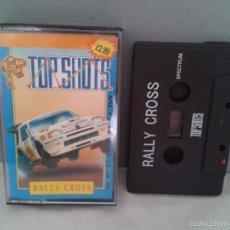 Videojuegos y Consolas: SINCLAIR ZX SPECTRUM TOP SHOTS RALLY CROSS 48K 128K +2 R4158. Lote 58442055