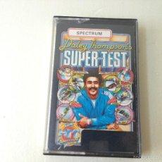 Videojuegos y Consolas: DALEY THOMPSON'S SUPER TEST SPECTRUM/JUEGO PARA ORDENADOR SPECTRUM DALEY. Lote 58522523