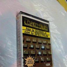 Videojuegos y Consolas: JUEGO SPECTRUM DE QUINIELAS. Lote 58555901