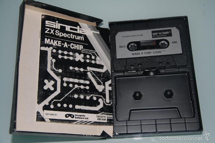 Videojuegos y Consolas: ZX SPECTRUM JUEGO PROGRAMACION SPECTRUM - Foto 3 - 61182103