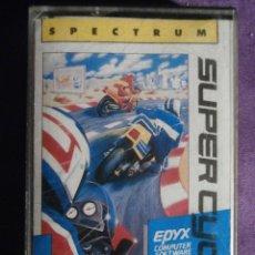 Videojuegos y Consolas: JUEGO ZX SPECTRUM Y COMPATIBLES - SUPER CYCLE - ERBE - 1987 -. Lote 61645888