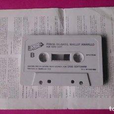 Videojuegos y Consolas: CINTA SPECTRUM PERICO DELGADO, CON HOJA INSTRUCCIONES . Lote 63645099