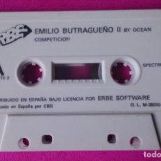 Videojuegos y Consolas: CINTA SPECTRUM EMILIO BUTRAGUEÑO . Lote 63645223