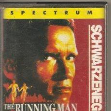 Videojogos e Consolas: THE RUNNING MAN - PERSEGUIDO- SCHWARZENEGGER. SPECTRUM. Lote 64350563