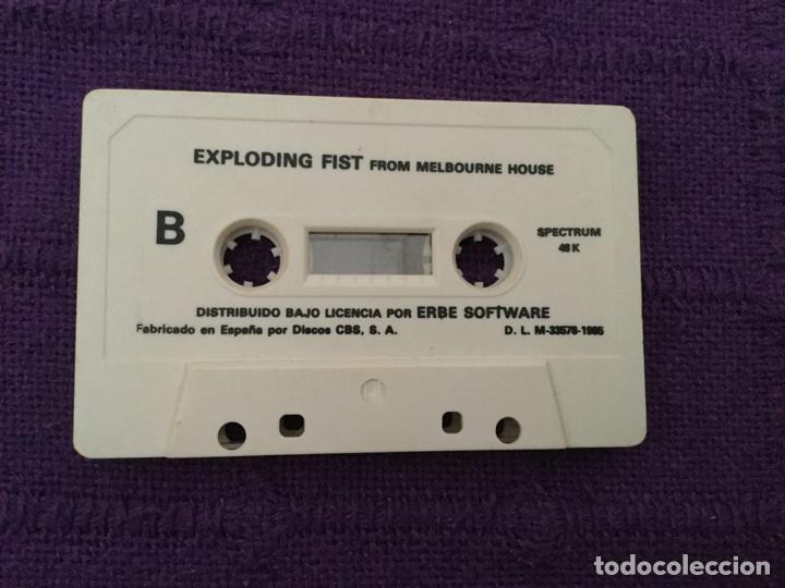 Videojuegos y Consolas: Exploding Fist from MELBOURNE HOUSE - ERBE Software Zx Spectrum ZXSpectrum Discos CBS - Foto 2 - 65242637