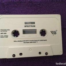 Videojuegos y Consolas: GALLETRON SPECTRUM ZX ZXSPECTRUM DRO SOFT IBEROFON. Lote 65245766