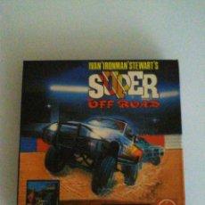 Videojuegos y Consolas: JUEGO SPECTRUM SUPER OFF ROAD CASSETTE MCM VIRGIN GAMES DEL AÑO 1991 ,EN BUEN ESTADO. Lote 65679270