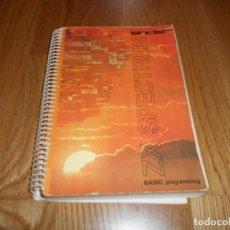 Videojuegos y Consolas: SINCLAIR SPECTRUM ZX , BASIC PROGRAMMING , MANUAL 1º EDICION 1982 , INVESTRONICA. Lote 65955446