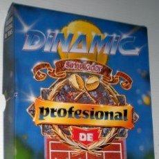 Videojuegos y Consolas: SIMULADOR PROFESIONAL DE TENIS [DINAMIC SOFTWARE] 1990 [ZX SPECTRUM] [DISCO +3]. Lote 65995794