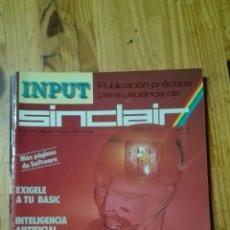 Videojuegos y Consolas: INPUT SINCLAIR N6. Lote 68609287