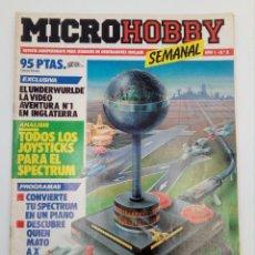 Videojuegos y Consolas: MICROHOBBY SEMANAL 8. REVISTA INDEPENDIENTE PARA USUARIOS DE ORDENADORES SINCLAIR HOBBY PRESS, 1984. Lote 147239690