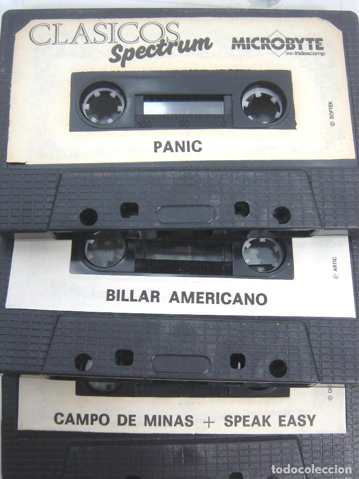 Videojuegos y Consolas: LOTE 8X VIDEO JUEGO - SPECTRUM-MSX- SIN CARATULA -TAI PAN-PSYCHO PIG-PANIC-BILLAR-COLISEUM-TITANIC.. - Foto 3 - 72157375