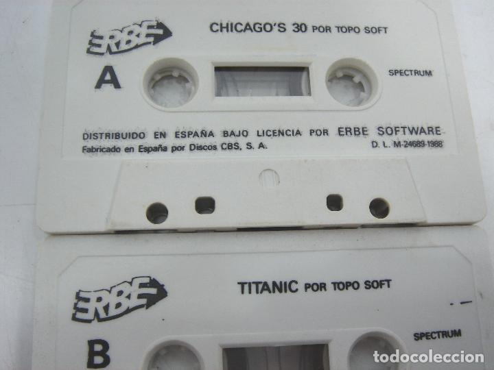 Videojuegos y Consolas: LOTE 8X VIDEO JUEGO - SPECTRUM-MSX- SIN CARATULA -TAI PAN-PSYCHO PIG-PANIC-BILLAR-COLISEUM-TITANIC.. - Foto 4 - 72157375