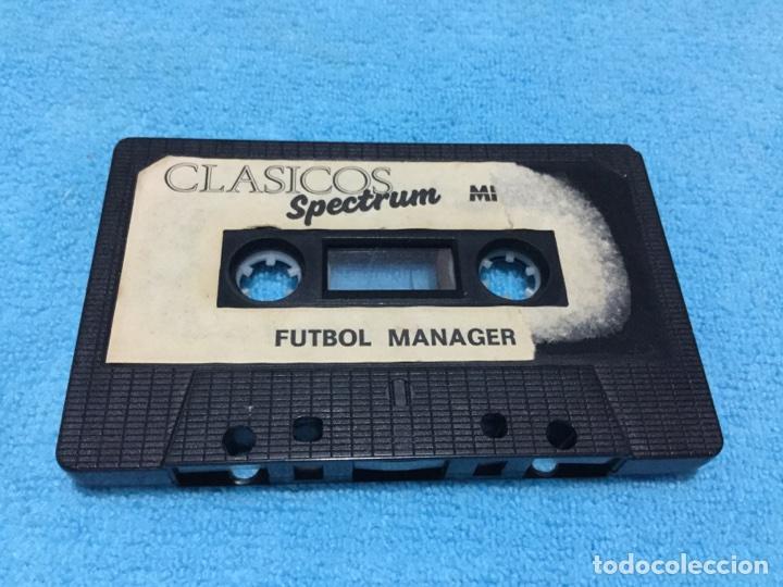 CLASICOS SPECTRUM FUTBOL MANAGER ZX MICROBYTE ZX SINCLAIR (Juguetes - Videojuegos y Consolas - Spectrum)