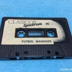 Videojuegos y Consolas: CLASICOS SPECTRUM FUTBOL MANAGER ZX MICROBYTE ZX SINCLAIR. Lote 73027789