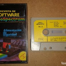 Videojuegos y Consolas: VIDEOSPECTRUM Nº 2 REVISTA DE SOFTWARE - ZX SPECTRUM. Lote 75470583