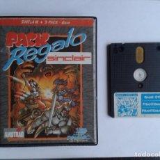 Videojuegos y Consolas: SINCLAIR ZX SPECTRUM +3 128K DISK PACK REGALO MAGNIFICO ESTADO ORIGINAL DINAMIC R5581. Lote 75667935