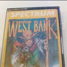 Videojuegos y Consolas: JUEGO SPECTRUM WEST BANK CASSETTE DINAMIC DEL AÑO 1985 ,EN BUEN ESTADO. Lote 76194683