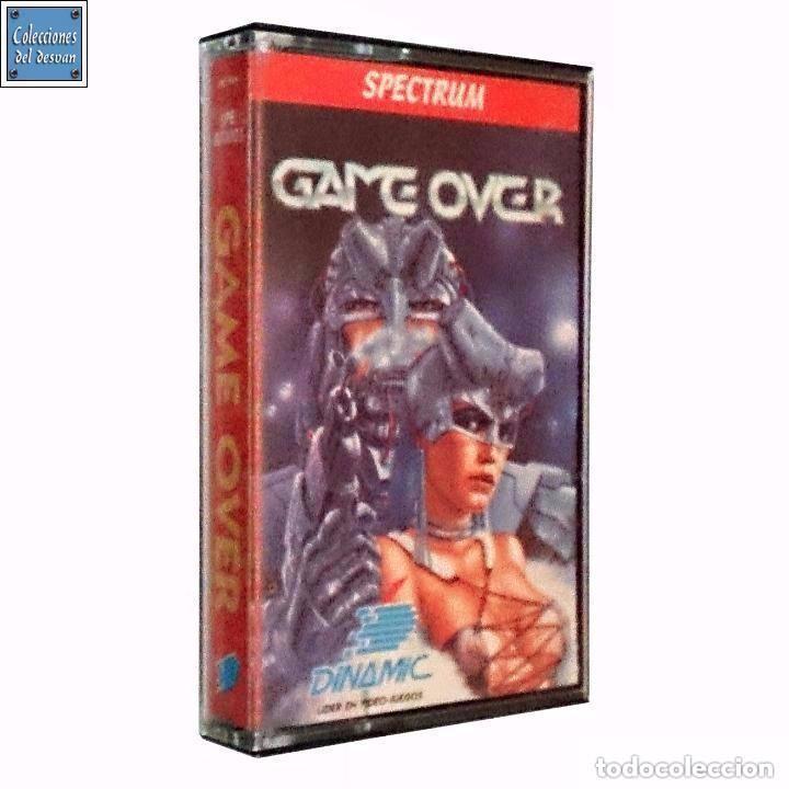 GAME OVER / JUEGO SPECTRUM CINTA / ESPAÑOL / DINAMIC 1988 ( LUÍS ROYO COVER ) (Juguetes - Videojuegos y Consolas - Spectrum)