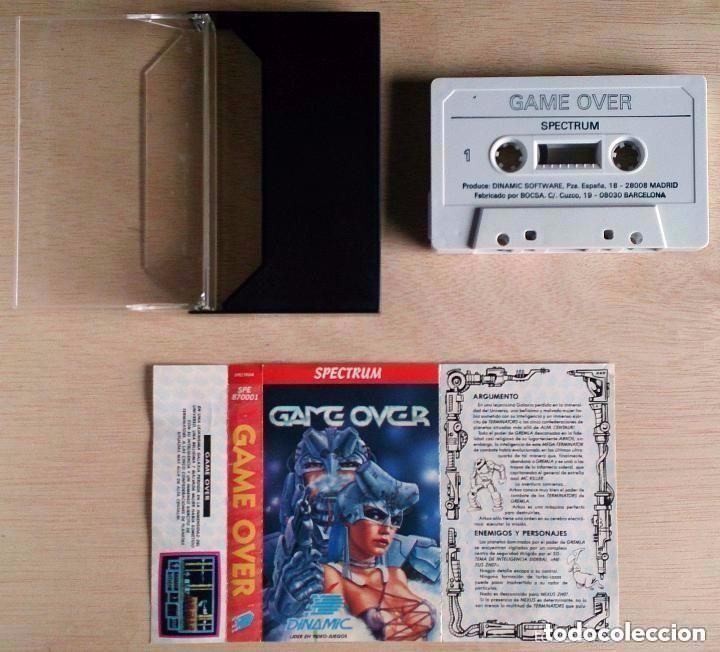 Videojuegos y Consolas: Game Over / Juego Spectrum Cinta / Español / Dinamic 1988 ( Luís Royo Cover ) - Foto 2 - 76218195