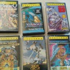 Videojuegos y Consolas: THE CREAT ESCAPE-XEVIOUS-INFILTRATOR-CHORT CIRCUIT-WINTER GAMES-CATCH 23 - LOTE 6 JUEGOS. Lote 76266403