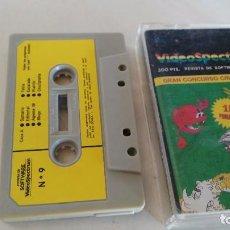 Videojuegos y Consolas: VIDEOSPECTRUM Nº 6 - 15 PROGRAMAS. Lote 76488363