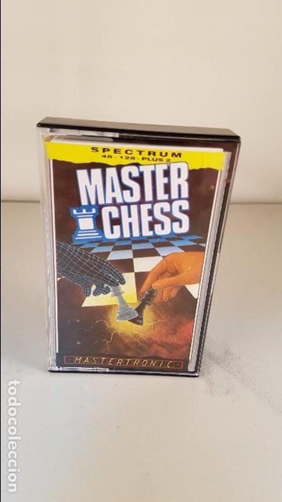 JUEGO DE SPECTRUM. MASTER CHESS. PARA 48K, 128K Y PLUS 2. (Juguetes - Videojuegos y Consolas - Spectrum)
