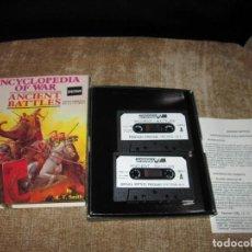 Videojuegos y Consolas: JUEGO ENCYCLOPEDIA OF WAR ~ ANCIENT BATTLES ~ SPECTRUM. Lote 80397281