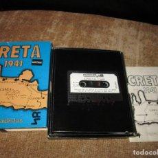 Videojuegos y Consolas: JUEGO CRETA 1941 ~ PARACAIDISTAS ~ SPECTRUM. Lote 80399441