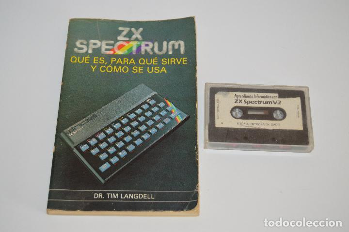 LIBRO GUÍA ZX SPECTRUM LIBRO Y CINTA (Juguetes - Videojuegos y Consolas - Spectrum)