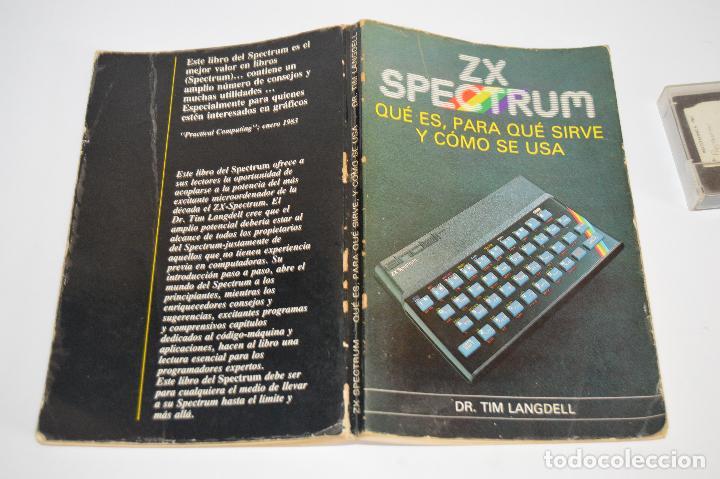 Videojuegos y Consolas: Libro guía Zx spectrum libro y cinta - Foto 4 - 80909360