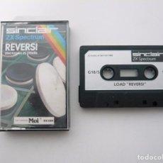 Videojuegos y Consolas: REVERSI / SINCLAIR ZX SPECTRUM 48K - 128K / CASSETTE / RETRO. Lote 82190672
