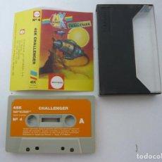 Videojuegos y Consolas: 48K CHALLENGER / SINCLAIR ZX SPECTRUM 48K - 128K / CASSETTE / RETRO. Lote 82625556