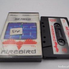 Videojuegos y Consolas: JUEGO CASSETTE MR FREEZE SPECTRUM SINCLAIR ZX 48 128K.COMBINO ENVIO. Lote 86406108