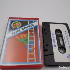 Videojuegos y Consolas: JUEGO CASSETTE BEAR BOVVER SPECTRUM SINCLAIR ZX 48 128K.COMBINO ENVIO. Lote 86406552