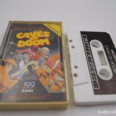 Videojuegos y Consolas: JUEGO CASSETTE CAVES OF DOOM SPECTRUM SINCLAIR ZX 48 128K.COMBINO ENVIO.. Lote 86407316