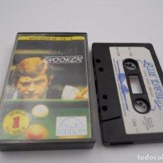 Videojuegos y Consolas: JUEGO CASSETTE STEVE DAVIS SNOOKER SPECTRUM SINCLAIR ZX 48 128K.COMBINO ENVIO.. Lote 86407496