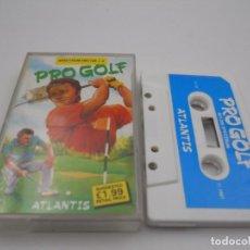 Videojuegos y Consolas: JUEGO CASSETTE PRO GOLF SPECTRUM SINCLAIR ZX 48 128K.COMBINO ENVIO.. Lote 86409396