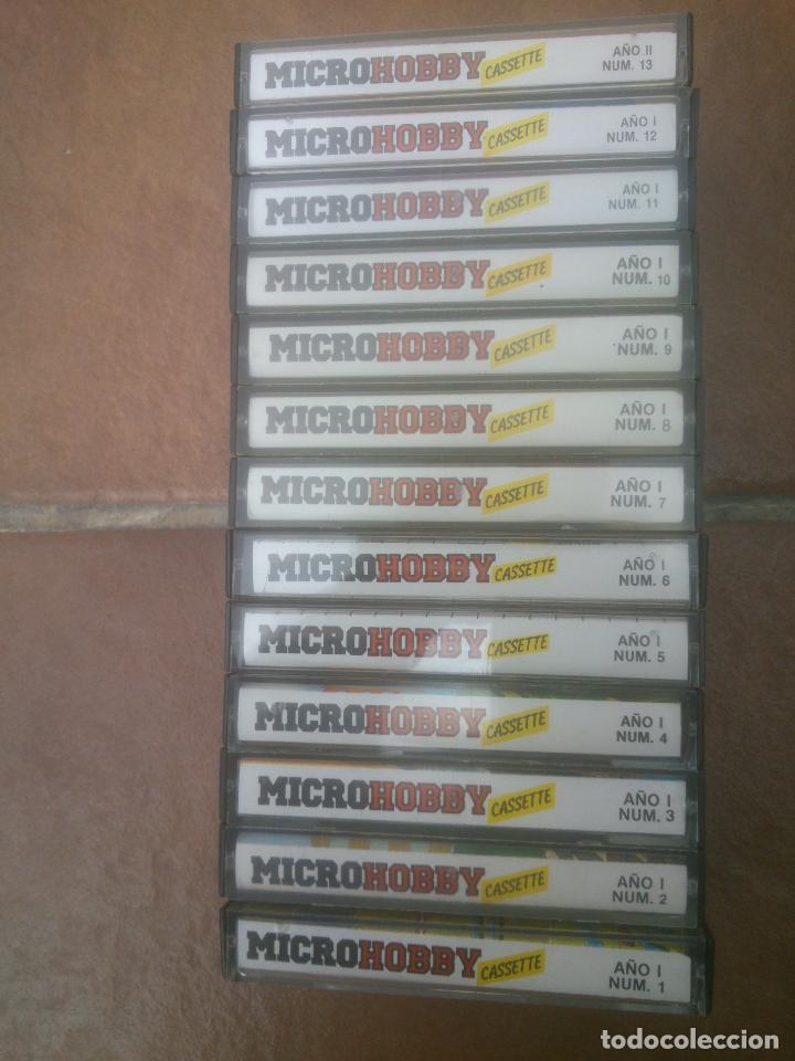 COLECCION CASSETTE DE LOS 100 PRIMERAS MICROHOBBY SINCLAIR ZX SPECTRUM (Juguetes - Videojuegos y Consolas - Spectrum)