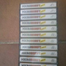 Videojuegos y Consolas: COLECCION CASSETTE DE LOS 100 PRIMERAS MICROHOBBY SINCLAIR ZX SPECTRUM. Lote 86424868